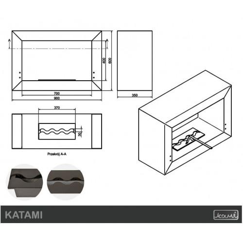 Біокамін Kami Katami