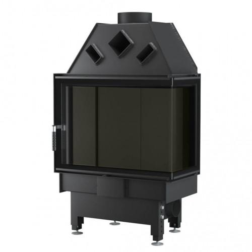 Каминная топка Unico DRAGON 2B XL Optima (раздельное стекло), 4-13 кВт