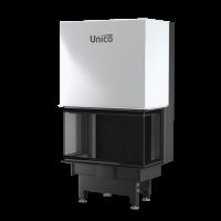 Тристоронній камін Unico DRAGON 2C LIFT Raster, 4-13кВт
