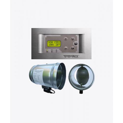 Автоматика для камінів з водяним контуром RT-08P Kominek LUX titanium (Ø 100 мм)