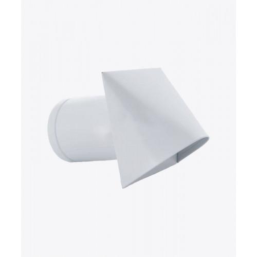 Элемент для забора воздуха круглый CZNP белый, Ø110мм