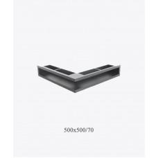 Вентиляционная решетка V – OPEN-L 500х500х70, черная