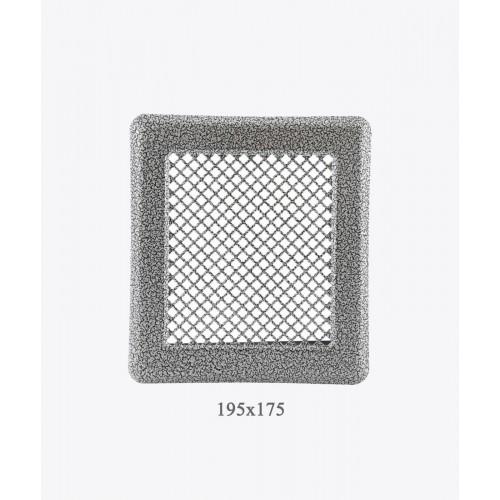 Вентиляційна решітка Р2 античне срібло