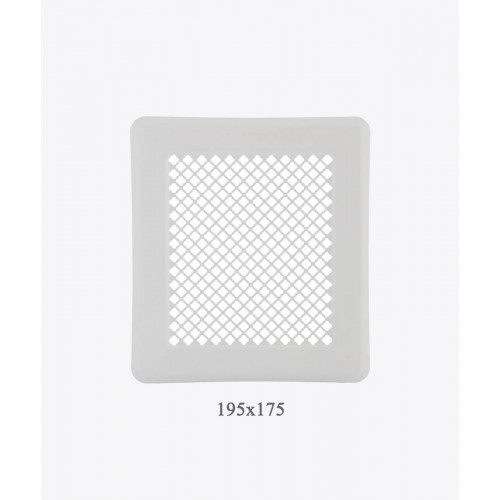Вентиляційна решітка Р2 біла