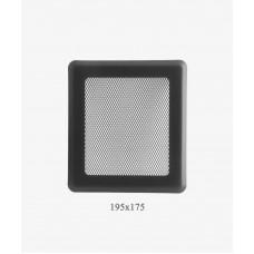 175х195 Вентиляционная решетка Р2 графит Light