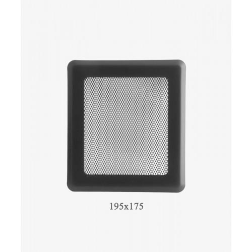 175х195 Вентиляційна решітка Р2 графіт Light