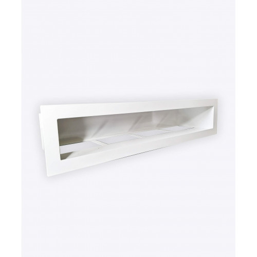 Вентиляционная решетка V-OPEN-I, белая, 450х70мм