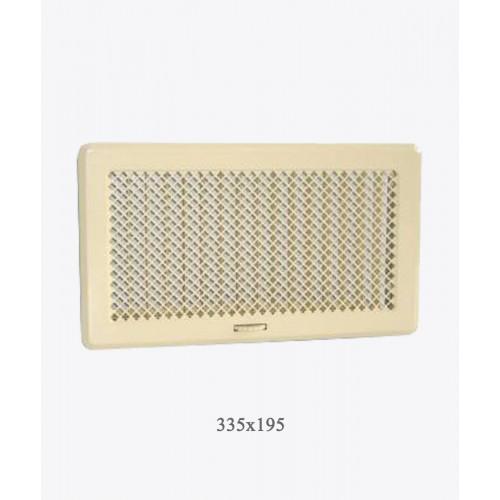 195х335 Вентиляційна решітка Рж4 беж