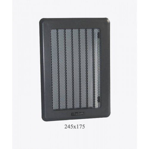 Вентиляційна решітка Рж3 графіт light