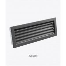 Вентиляционные решетки Ventlab, 325x195мм, черная