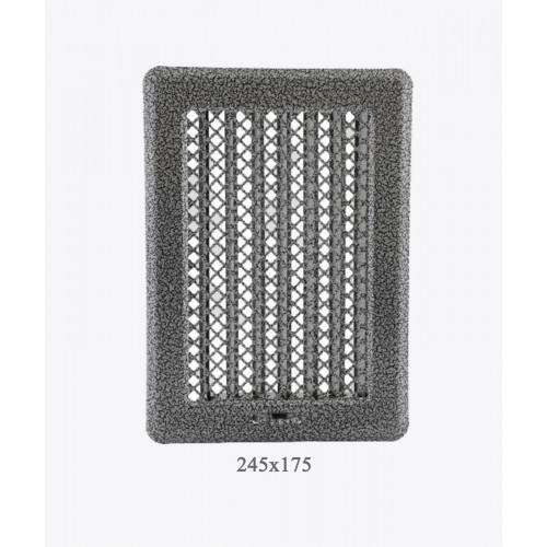 Вентиляционная решетка Рж3 ант. серебро