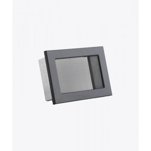 Вентиляційна решітка Ventlab, 190х170мм, сітка чорна