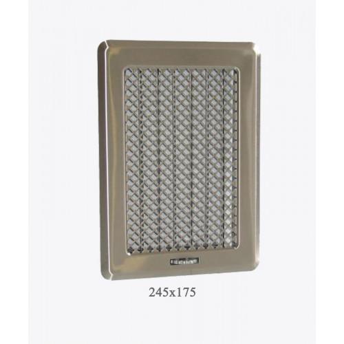 Вентиляционная решетка Рж3 хром