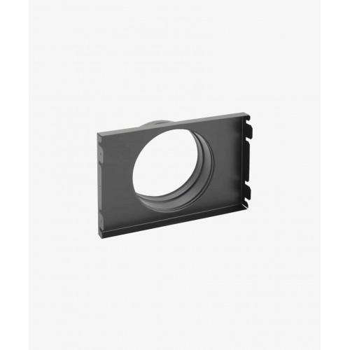 Кассета-адаптер для решетки Ventlab KDP KRV, 220х220мм, Ø125мм