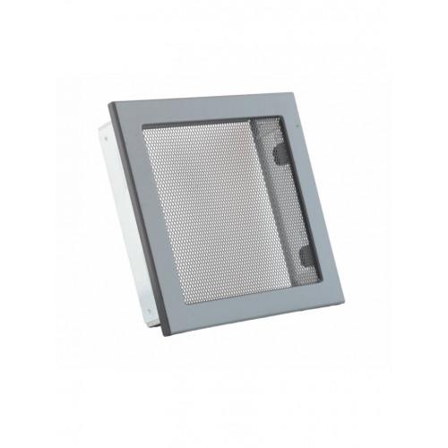 Вентиляційні решітки з сіткою Ventlab, 220х220, чорна