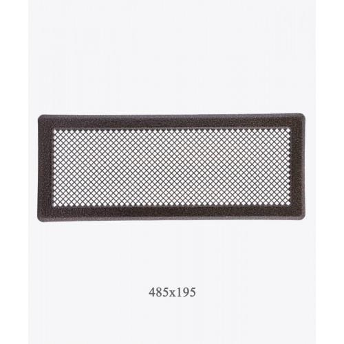 195х485  Вентиляционная решетка Р5 ант. медь