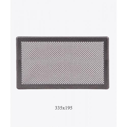 Вентиляційна решітка Р4, 335х195мм, ант. срібло