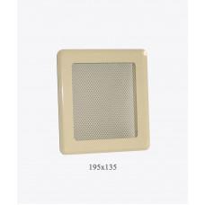 Вентиляционная решетка Р2 беж light, 175х195мм