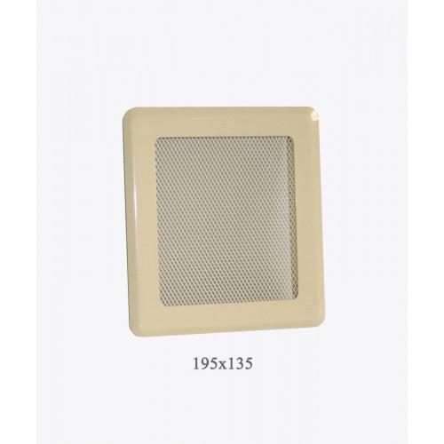 Вентиляційна решітка Р2 беж light, 175х195мм