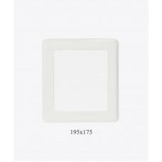 Вентиляционная решетка Р2 белая light, 175х195мм