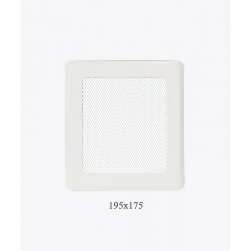 Вентиляційна решітка Р2 біла light, 175х195мм