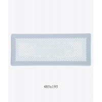 195х485  Вентиляционная решетка Р5 белая