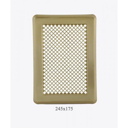 Вентиляционная решетка Р3 лак. латунь