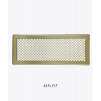 Вентиляційна решітка Р5 лак.латунь