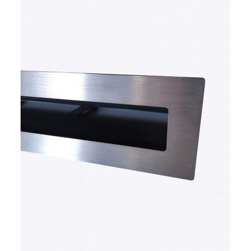 Вентиляційна решітка V-OPEN-L 500х500х100, хром