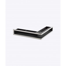 Вентиляционная решетка V-OPEN-L 500х700х70, хром