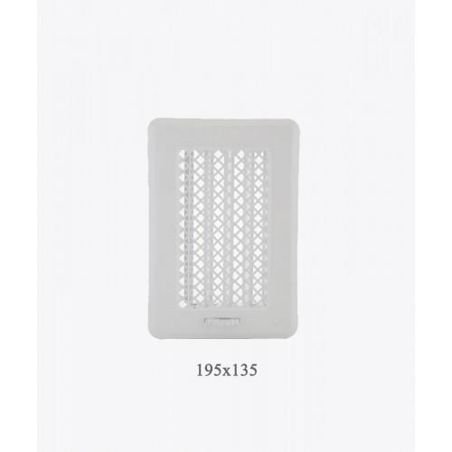 Вентиляційна решітка Рж1 біла light