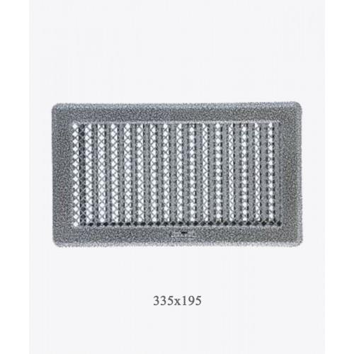 Вентиляційна решітка Рж4 ант. срібло