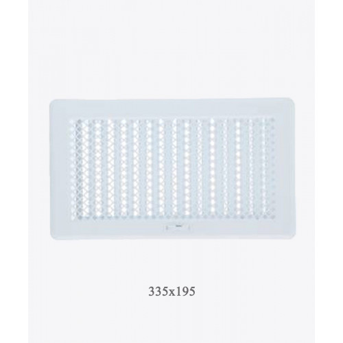 Вентиляційна решітка Рж4 біла