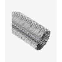 Воздуховод Spiroflex, алюминиевый гибкий не изолирован, 3м