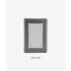 Вентиляционная решетка Р1 ант. серебро