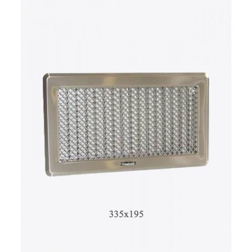 Вентиляционная решетка Рж4 хром