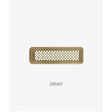 Вентиляционная решетка Р0 лак. латунь