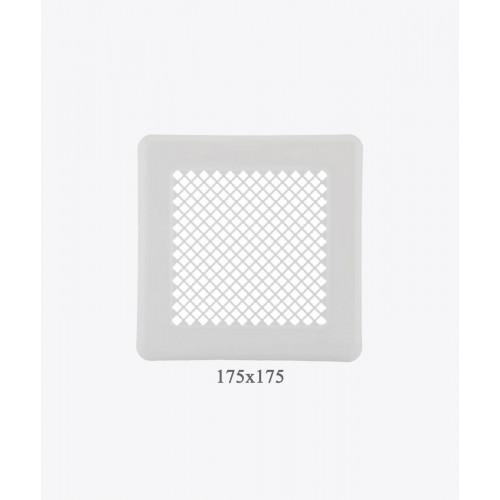 Вентиляційна решітка Р14, (175х175мм) біла