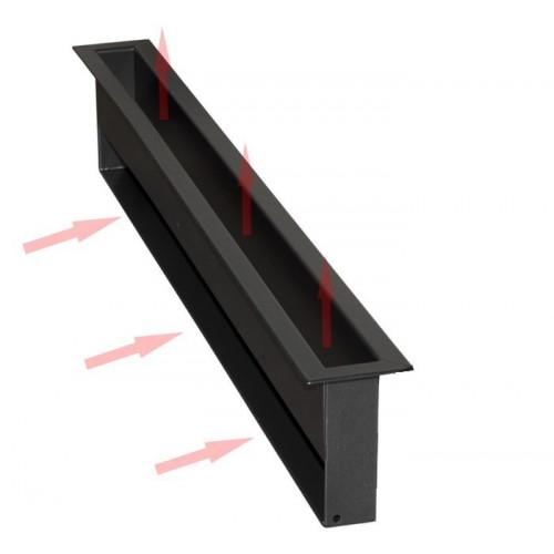 Вентиляційна решітка V-OPEN-I тунельна, хром 450х70мм