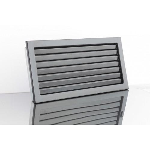 Вентиляційні решітки Ventlab, 325x195мм, чорна