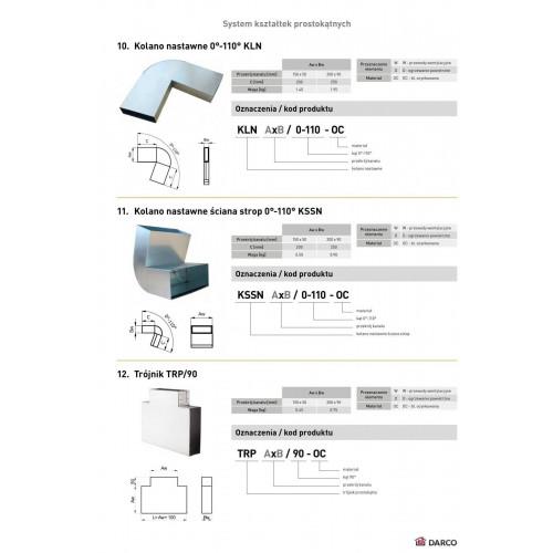Коліно вертикальне регульоване стіна-стеля KSSN 0-110º