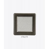 Вентиляційна решітка Р14, (антична мідь) 175х175мм
