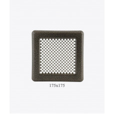 Вентиляционная решетка Р14, (античная медь) 175х175мм