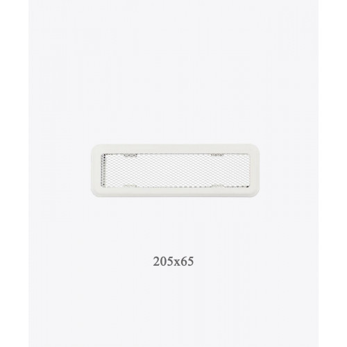 Вентиляционная решетка Light Р0, 205х65, беж