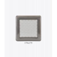 Вентиляційна решітка Р14, (175х175мм), хром