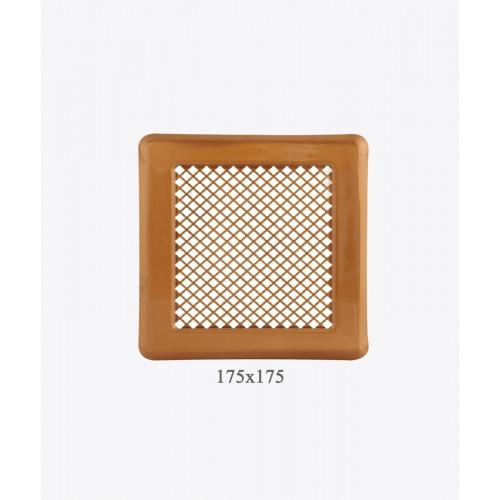 Вентиляционная решетка Р14, 175х175мм, лак. медь