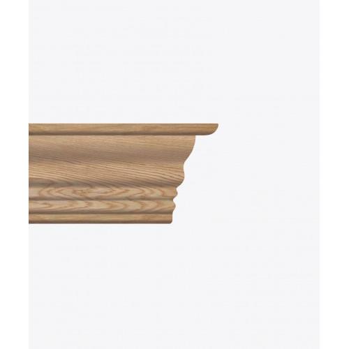 Дерев'яна балка фігурна велика №4 Браво