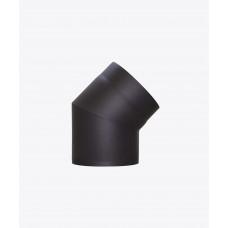 Колено для дымохода стальное, 45°