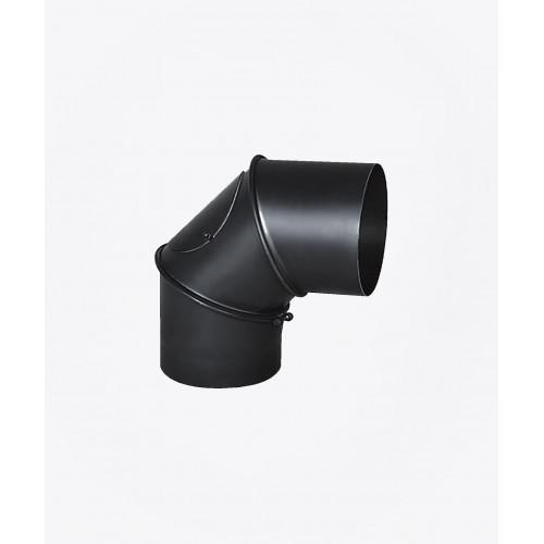 Коліно сталеве регульоване з ревізією, 90 °