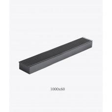 Решетка металлическая Loft, 1000х60